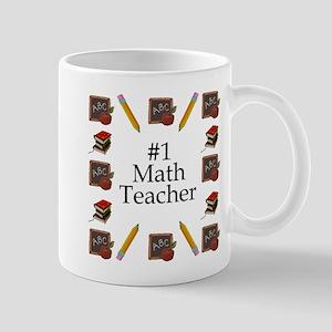 #1 Math Teacher Mug