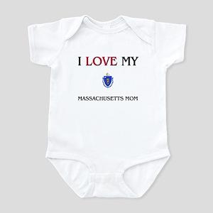 I Love My Massachusetts Mom Infant Bodysuit