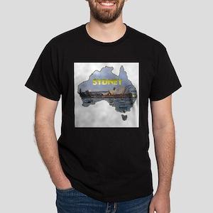 Sydney Opera House Ash Grey T-Shirt