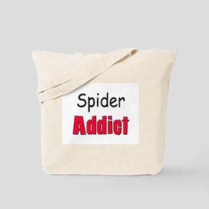 Spider Addict Tote Bag