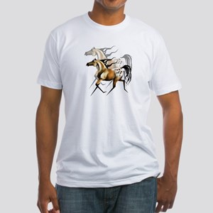 Running Appy Shadowed Fitted T-Shirt