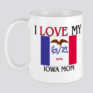 I Love My Indiana Mom Mug
