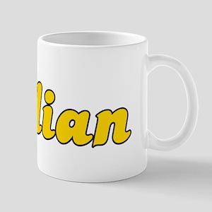 Retro Dalian (Gold) Mug