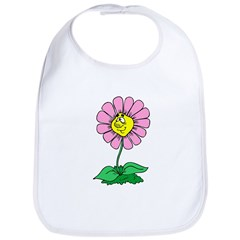 Flower Face Bib