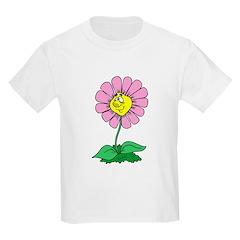 Flower Face Kids T-Shirt