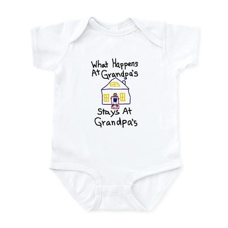 Grandpa's House Infant Bodysuit