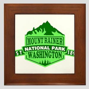 Mount Rainier - Washington Framed Tile