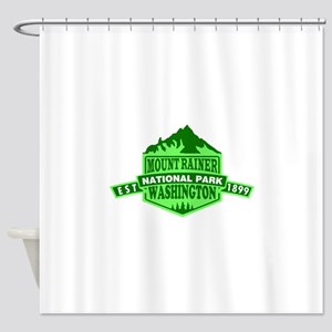 Mount Rainier - Washington Shower Curtain
