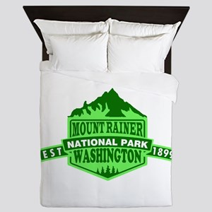 Mount Rainier - Washington Queen Duvet