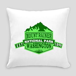 Mount Rainier - Washington Everyday Pillow