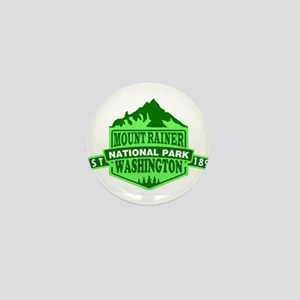 Mount Rainier - Washington Mini Button