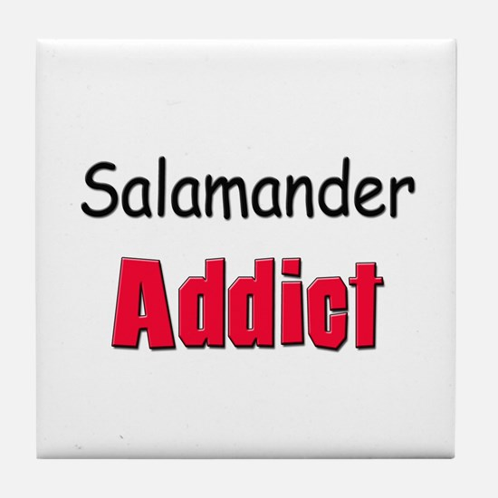 Salamander Addict Tile Coaster