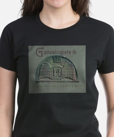 Genealogists & Historians Women's Dark T-Shirt