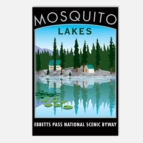 Mosquito Lakes - Postcards (Package of 8)
