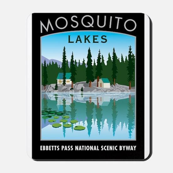 Mosquito Lakes - Mousepad