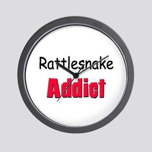 Rattlesnake Addict Wall Clock