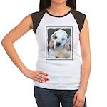 Clumber Spaniel Junior's Cap Sleeve T-Shirt