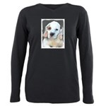Clumber Spaniel Plus Size Long Sleeve Tee