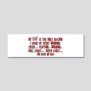 My Cat Car Magnet 10 x 3