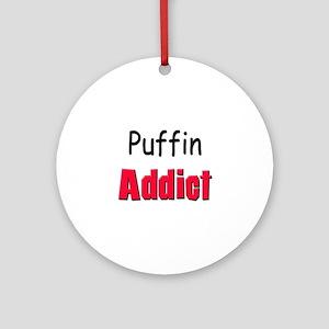 Puffin Addict Ornament (Round)