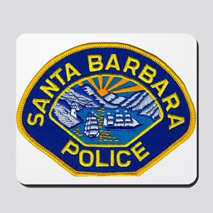 Santa Barbara PD Mousepad