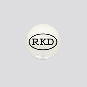 RKD Oval Mini Button