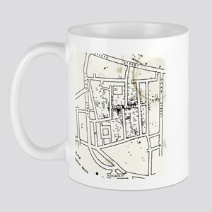 Cholera map Mugs