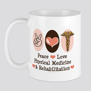 Peace Love PM&R Doctor Mug