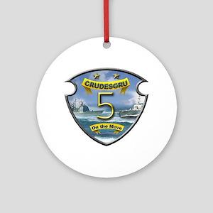 Cruiser Destroyer Group 5 Ornament (Round)