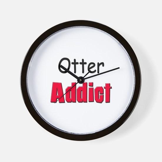Otter Addict Wall Clock
