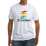 Florida Lesbians Online Fitted T-Shirt