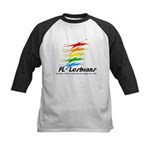 Florida Lesbians Online Kids Baseball Jersey