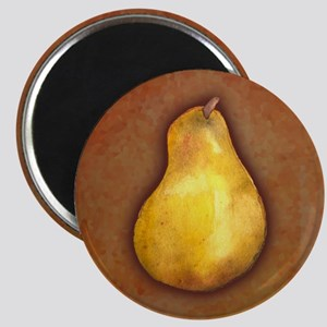 Yellow Pear Magnet