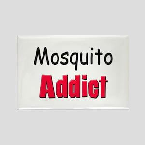 Mosquito Addict Rectangle Magnet