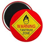 """Tantrum Zone 2.25"""" Magnet (10 pack)"""