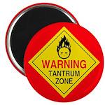 """Tantrum Zone 2.25"""" Magnet (100 pack)"""