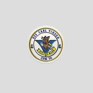 USS Carl Vinson CVN-70 Mini Button