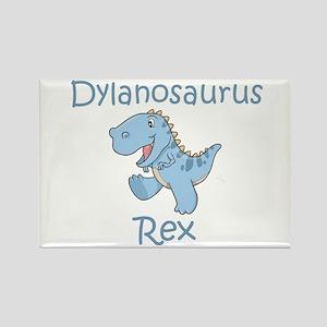 Dylanosaurus Rex Rectangle Magnet