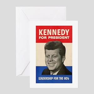JFK '60 Greeting Card