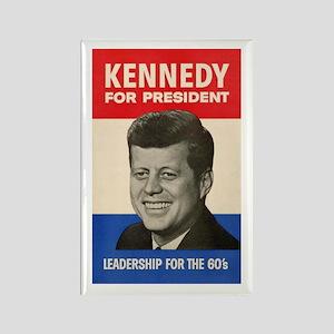 JFK '60 Rectangle Magnet