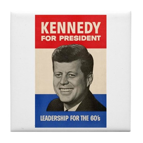 JFK '60 Tile Coaster