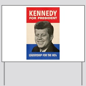 JFK '60 Yard Sign