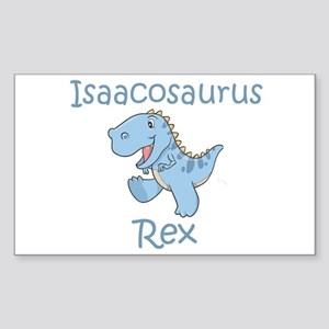 Isaacosaurus Rex Rectangle Sticker