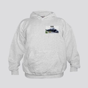 UP Big Boy Steam EngineKids Hoodie