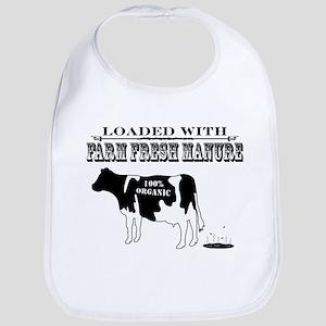 Farm Fresh Manure Baby Bib