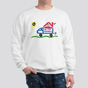 At Home on The Road Sweatshirt
