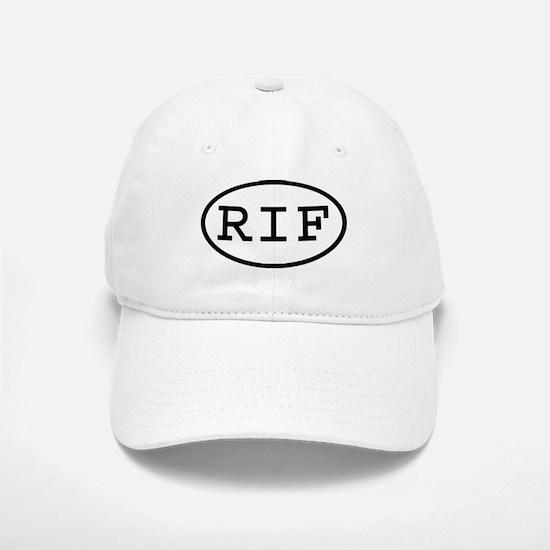 RIF Oval Baseball Baseball Cap