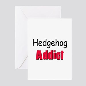Hedgehog Addict Greeting Cards (Pk of 10)