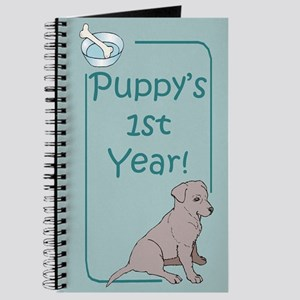 Labrador Retreiver Puppy's 1st Year Journal