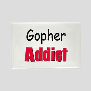 Gopher Addict Rectangle Magnet
